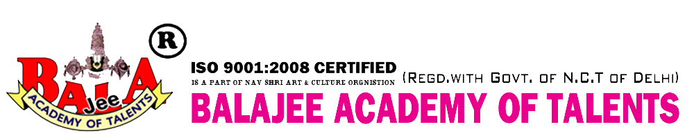 BALAJEE ACADEMY OF TALENTS CALL US: 011 42321102 TV ACTING INSTITUTE